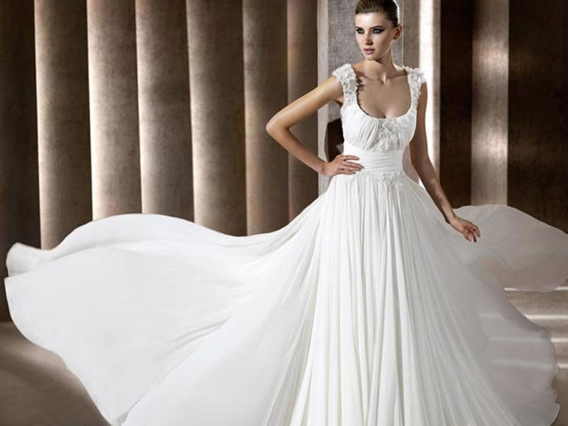 Elie Saab For Pronovias Wedding Dresses 2012 3